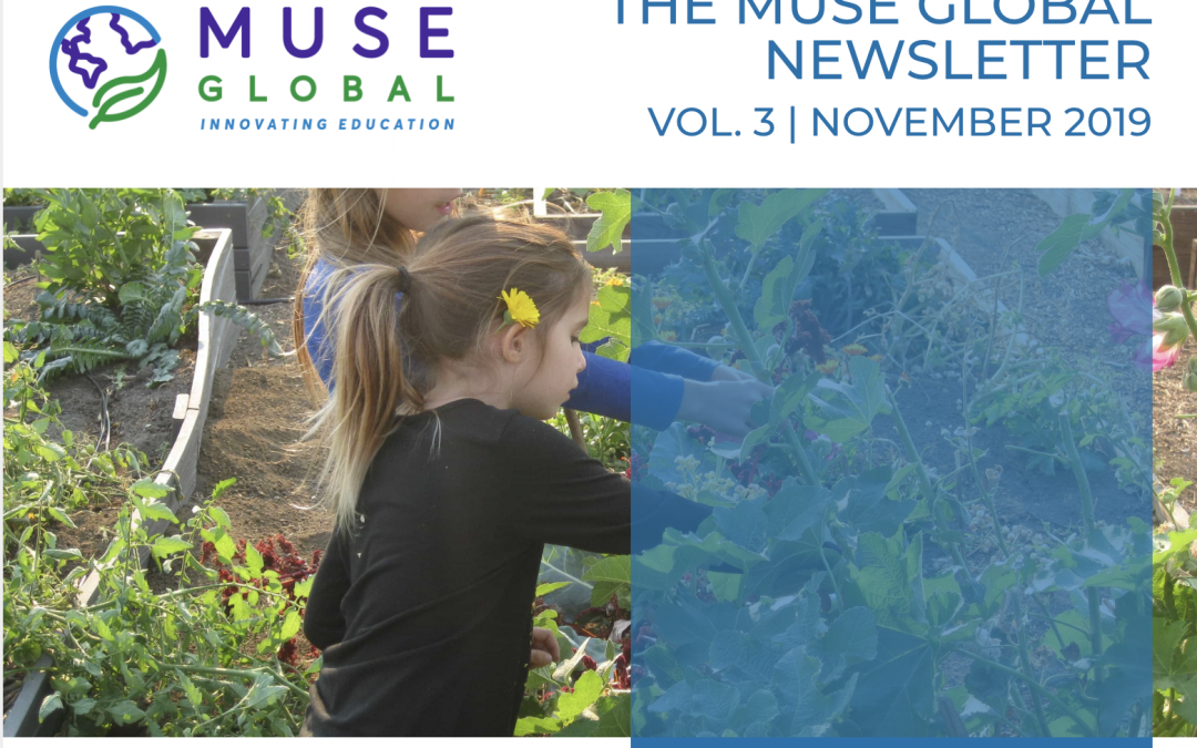 MUSE GLOBAL NEWSLETTER | NOVEMBER 2019 EDITION